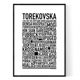 Torekovska Poster