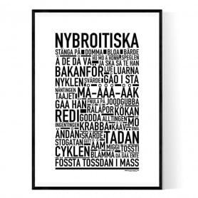 Nybroitiska Poster
