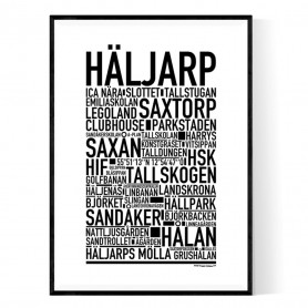 Häljarp Poster