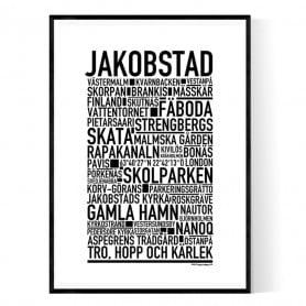 Jakobstad Poster