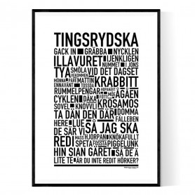 Tingsrydska Poster