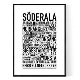 Söderala Poster