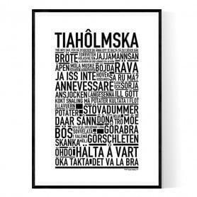 Tiahôlmska Poster