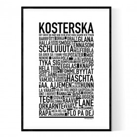 Kosterska Poster