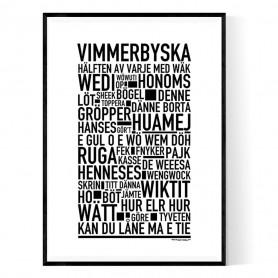 Vimmerbyska Poster