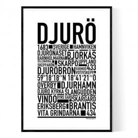 Djurö Poster
