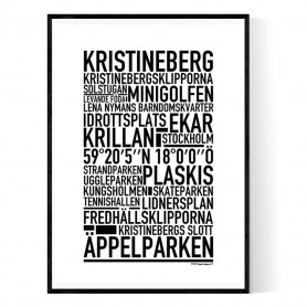 Kristineberg Poster