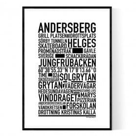 Andersberg Poster