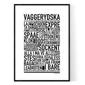 Vaggerydska Poster