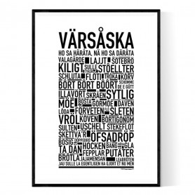 Värsåska Poster