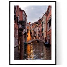 Venezia Canal Poster