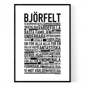 Björfelt Poster