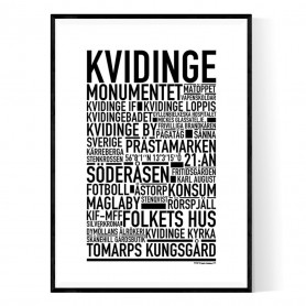 Kvidinge Poster