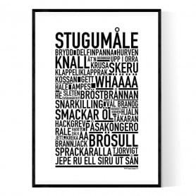 Stugumåle Poster