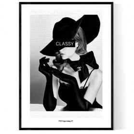 Classy Nicole Poster