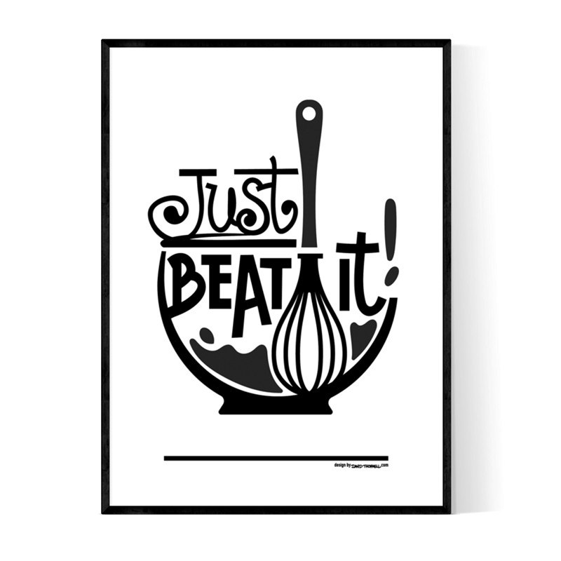 Just Beat It Poster