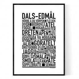 Dals-Edmål Poster