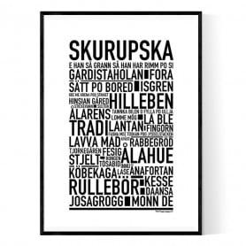 Skurupska Poster