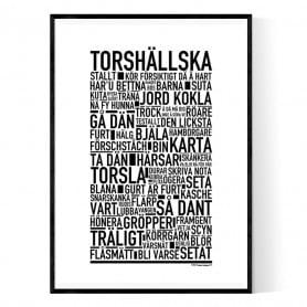 Torshällska Poster
