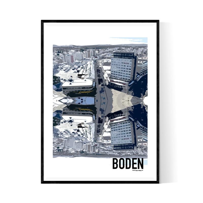 Boden Cutout Poster
