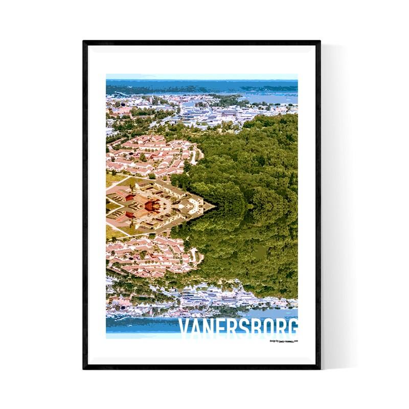 Vänersborg Cutout Poster