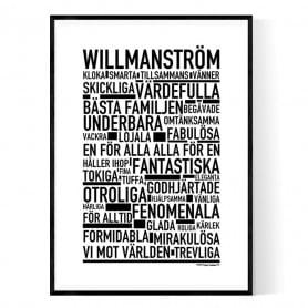 Willmanström Poster