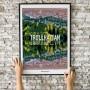 Trollhättan Cutout Poster