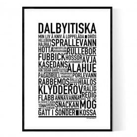 Dalbyitiska Poster