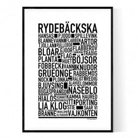 Rydebäckska Poster