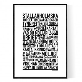 Stallarholmska Poster
