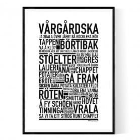 Vårgårdska Poster