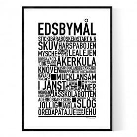 Edsbymål Poster