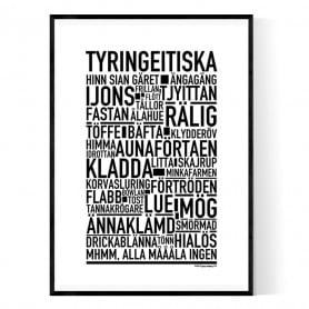 Tyringeitiska Poster