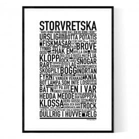 Storvretska Poster