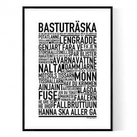 Bastuträska Poster