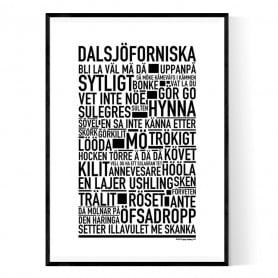 Dalsjöforniska Poster