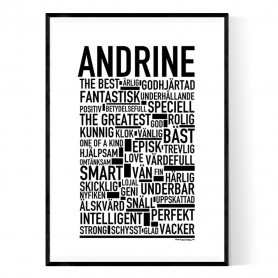 Andrine Poster