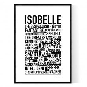 Isobelle Poster