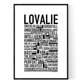 Lovalie Poster