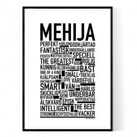 Mehija Poster