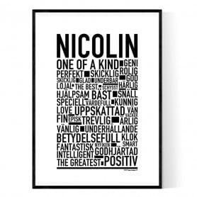Nicolin Poster