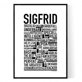 Sigfrid Poster