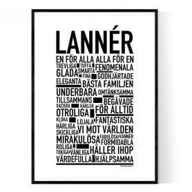 Lannér Poster