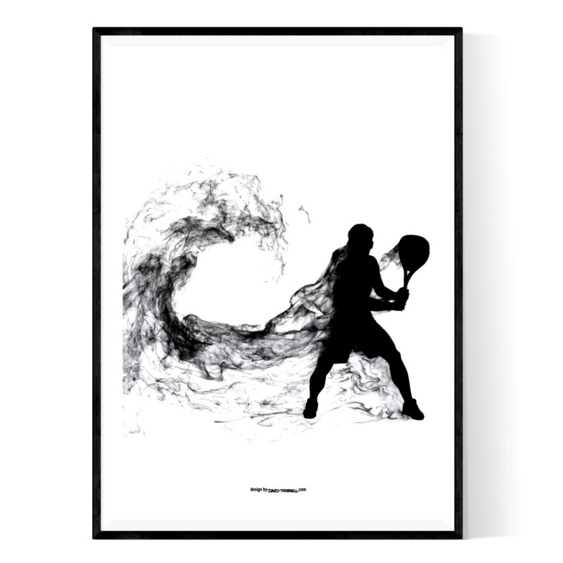 Padel Smoke Poster