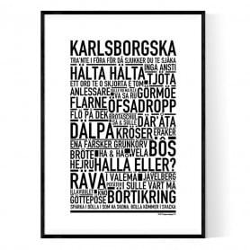 Karlsborgska Poster