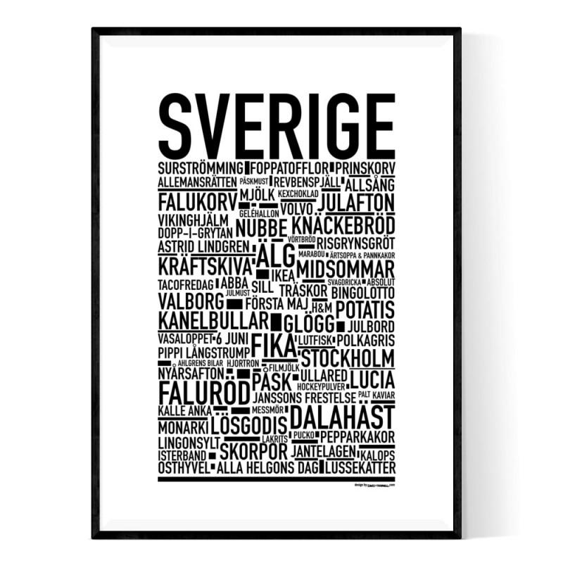Svenska Klassiker Poster