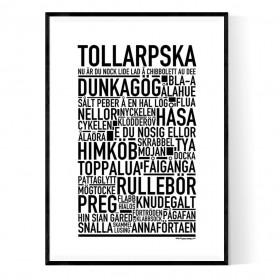 Tollarpska Poster
