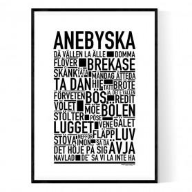 Anebyska Poster