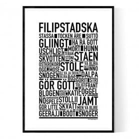 Filipstadska Poster