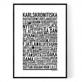 Karlskronitiska Poster
